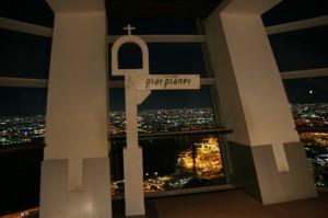 コスモタワー展望台からみる大阪