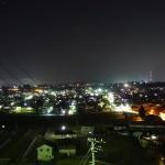 長野県飯田市の夜の街
