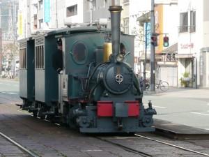 伊予鉄道巡り その2(坊っちゃん列車)