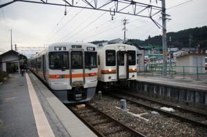 JR飯田線 313系と119系